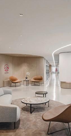 友邦保险(上海分公司)办公室设计