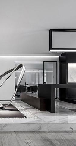 坦通数码办公室设计装修效果图