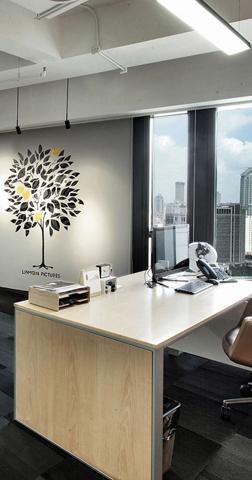 上海简.创意办公室装修设计