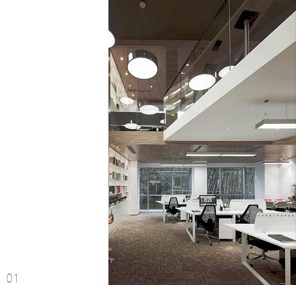 复式办公室装修设计