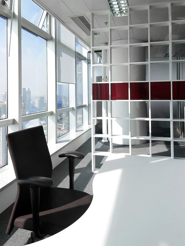 资生堂办公室设计实景图