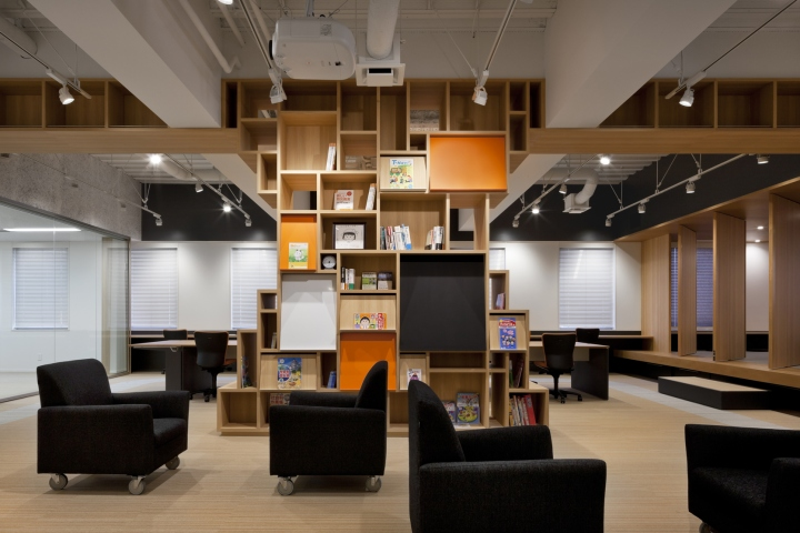 日式风格办公室设计案例(图)
