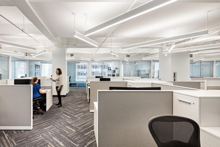 开放式办公室区设计图片