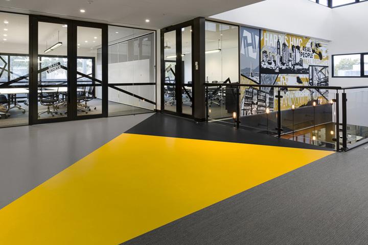 建筑公司工业风办公室设计欣赏
