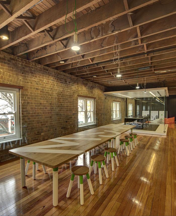厂房二次改造开放式办公室装修设计