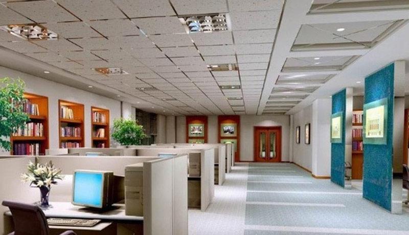 办公室装修办公室空间吊顶知识