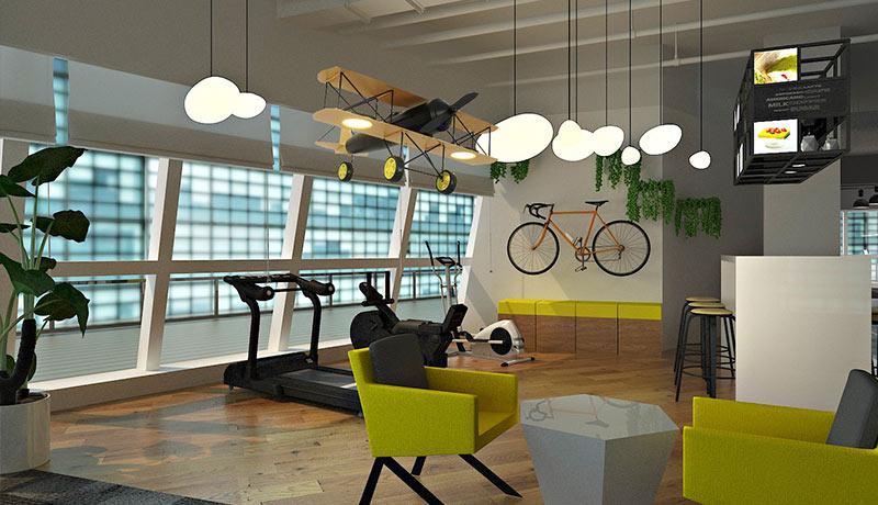 企业办公室装修设计的魅力所在