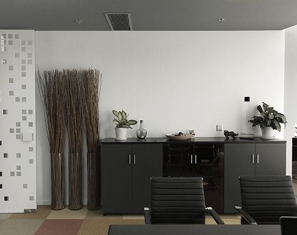 珂璧办公家具软装装饰设计实景图