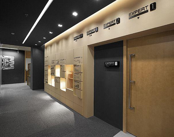 办公室走廊空间设计实景图