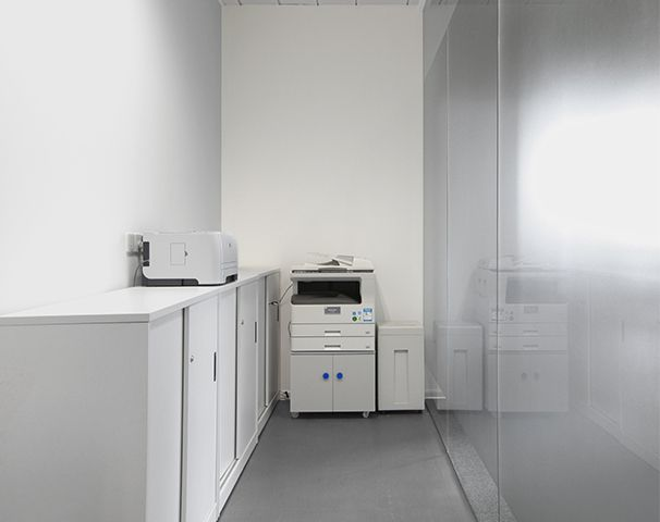 办公室打印区域设计实景图