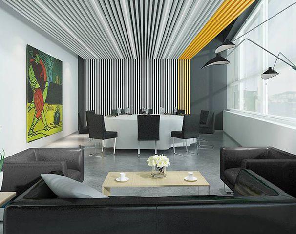 200平方米办公室设计图展示