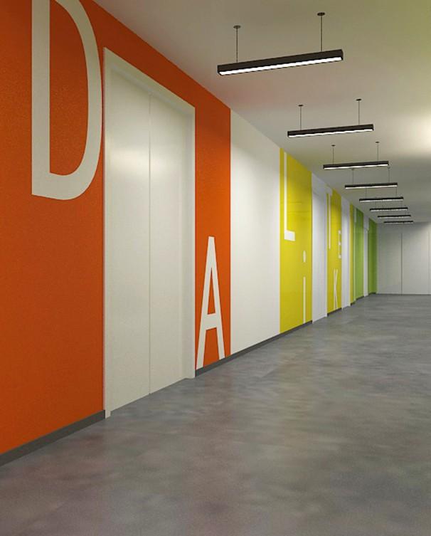 办公室走廊设计风格