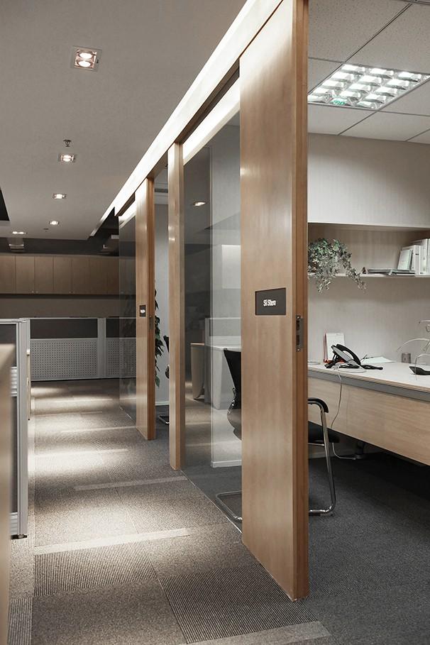 个人办公室装修设计实景图