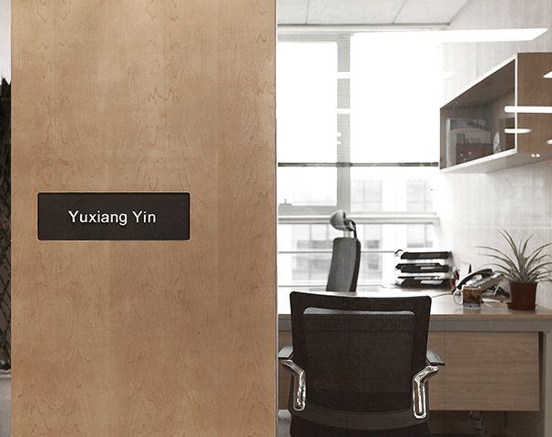 经理办公室装修设计实景图
