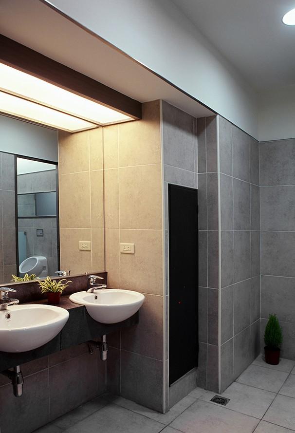 洗手间办公室装修设计实景图