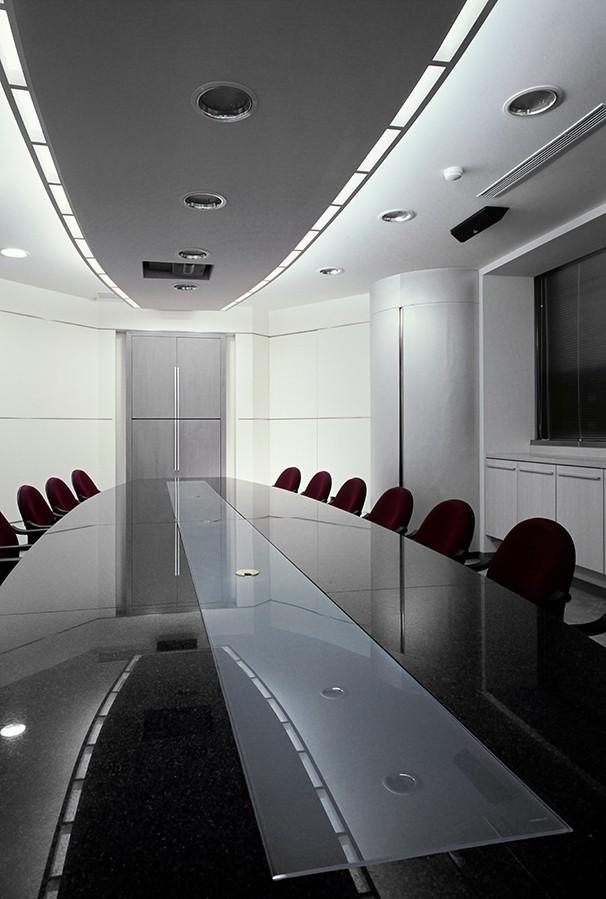 会议室办公装修设计实景图