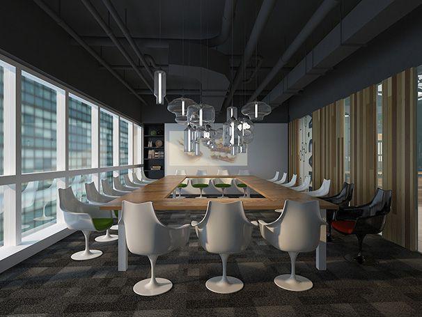 会议室办公室装修实景图