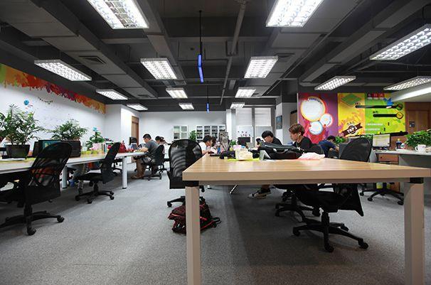 办公环境办公室装修实景图