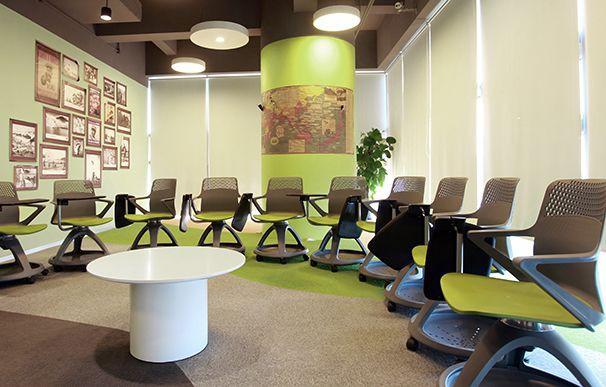 会议室设计办公室装修实景图