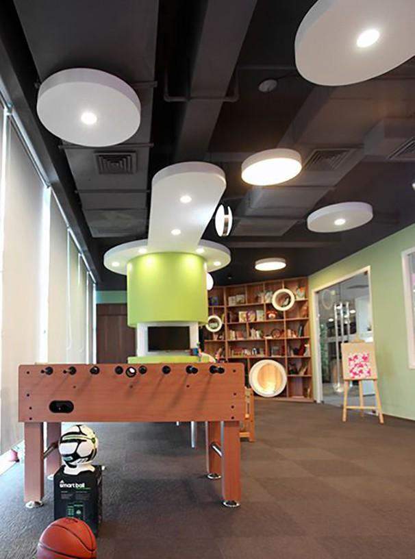 员工休息区办公室设计实景图