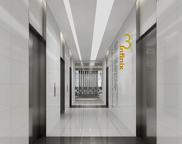 电梯办公室装修实景图