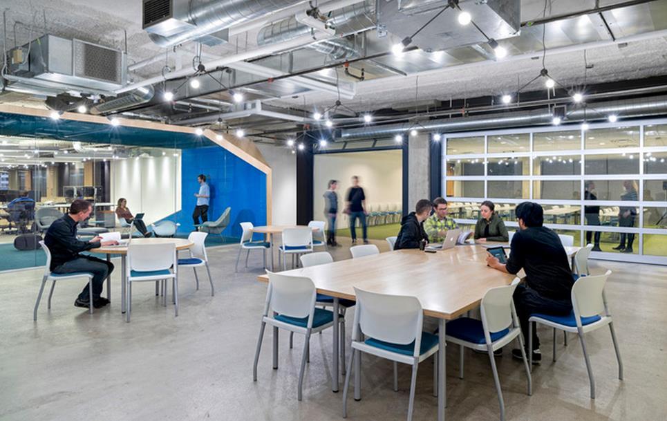 办公室装修可以采用各种各样的装修风格
