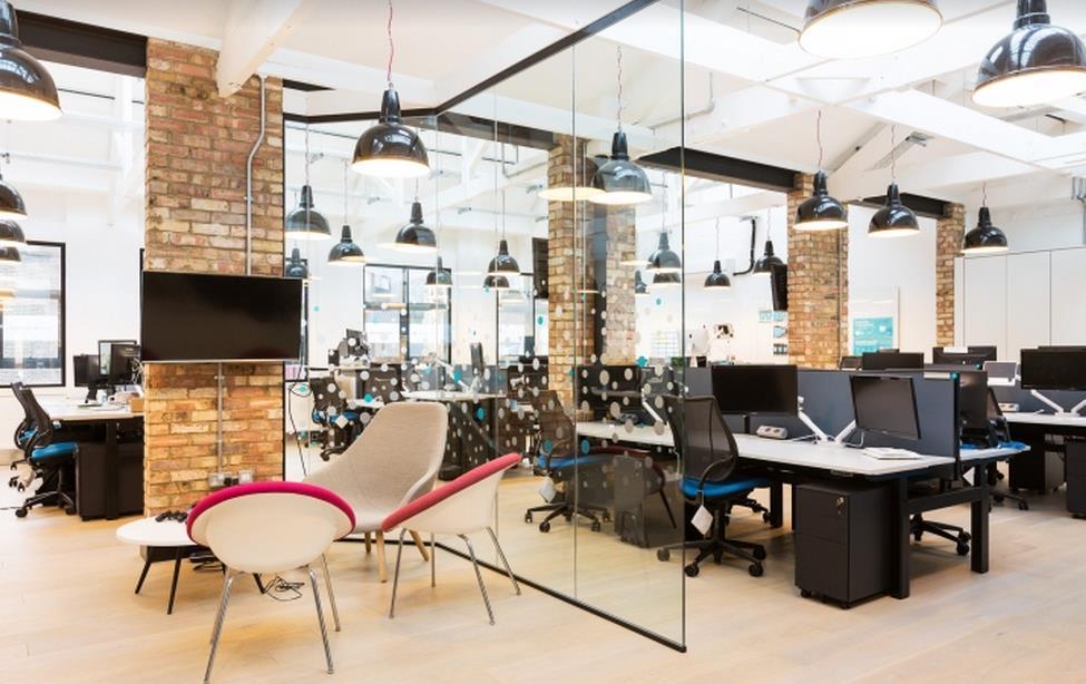 办公室设计中视觉效果的形式是怎样