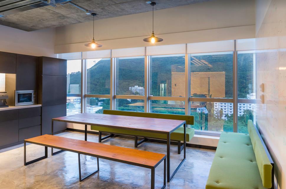 上海办公室设计中色系的选择很关键