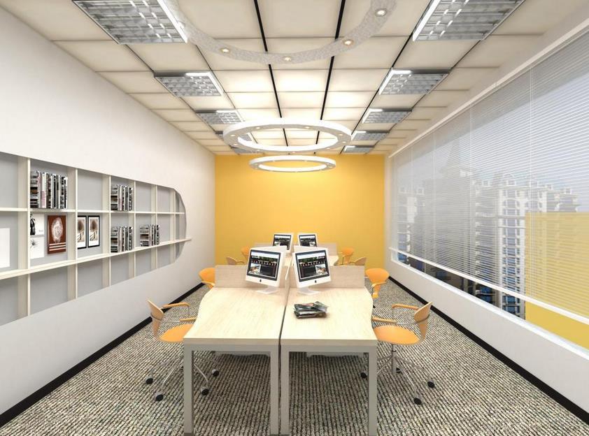 上海办公室装修风格一般要求简洁