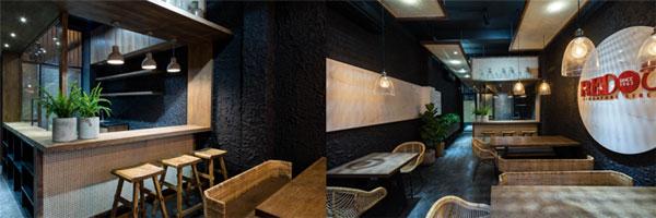 整洁舒适的现代化餐厅设计
