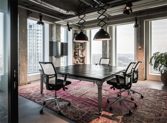 上海办公室装修中墙面装修有哪些形式?