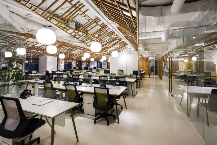 上海办公室装修带你攀登创意高峰