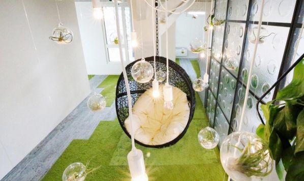 上海办公室装修怎样缓解工作焦虑症?