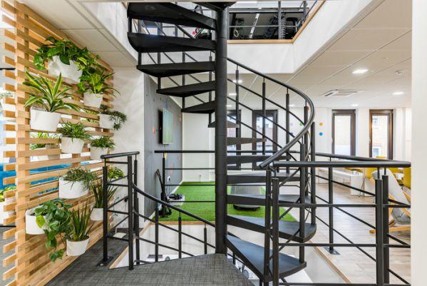 现代开放式办公室设计赏析