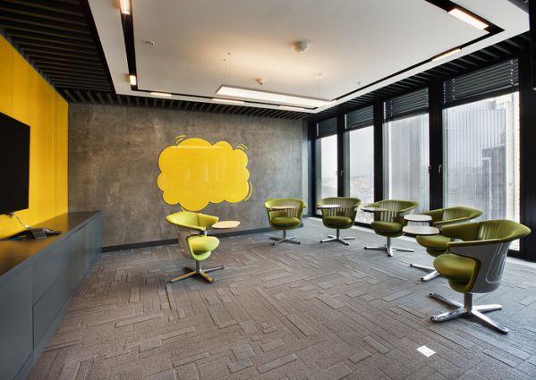 多功能的社交型办公室设计