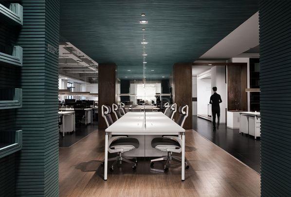 办公室设计之几何美学的新创意