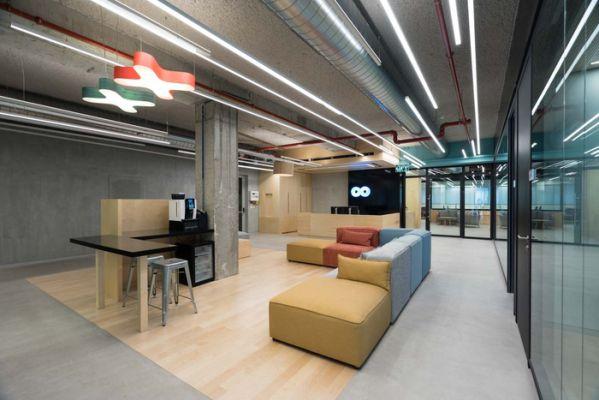 上海办公室设计风格的方式