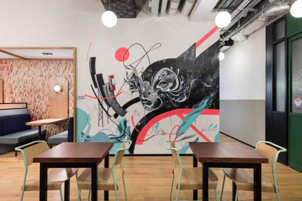 上海办公室设计中风格和色调的处理要求