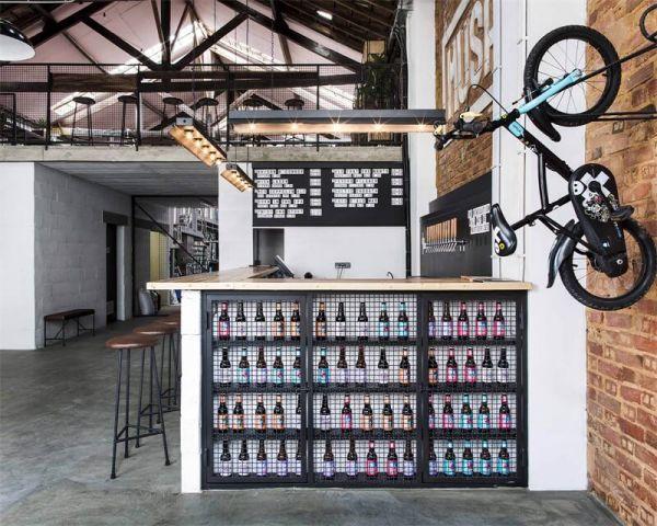 啤酒厂的办公室设计改造