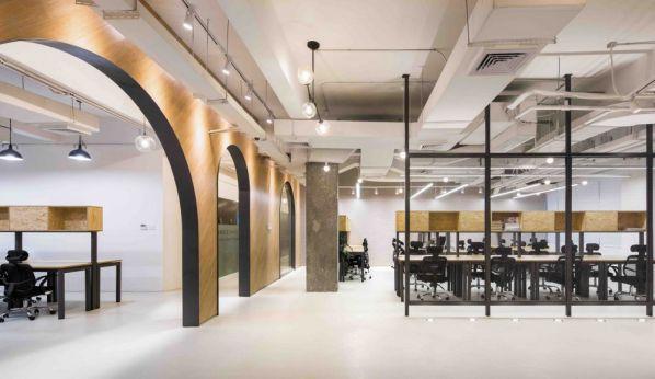 老工业区改造下的联合办公室设计