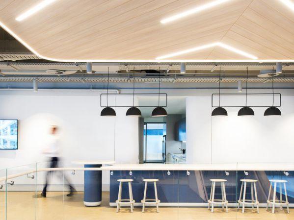 灵活办公室设计的俱乐部空间形式