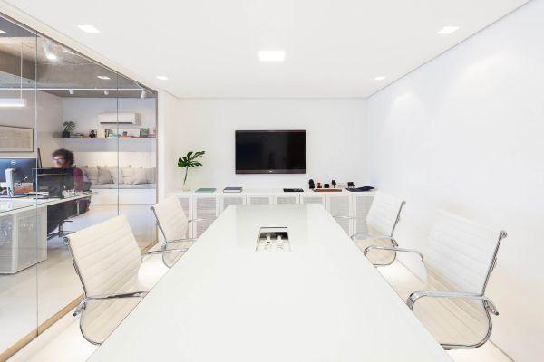 办公室装修设计营造小面积的工作环境