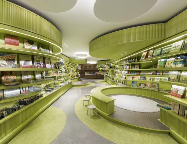 书店办公室装修设计下的阅读净土