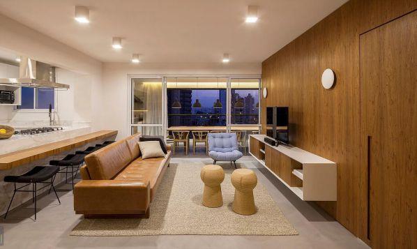 办公室设计的开放式住宅空间