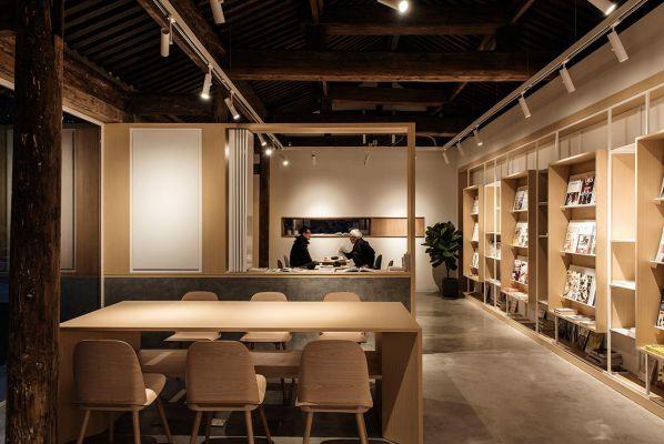 读书会办公室装修设计之小屋改造