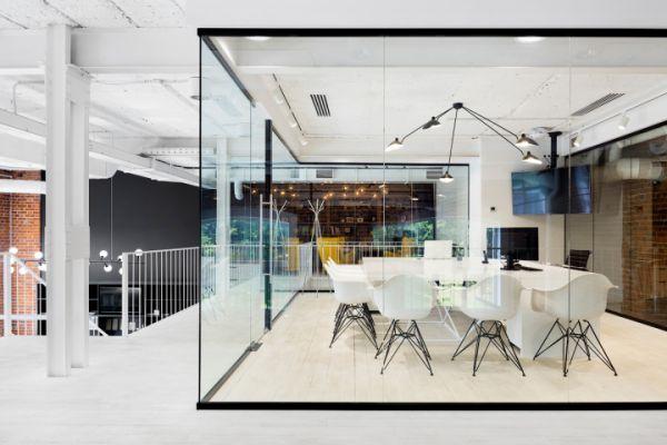 欣赏景观设计公司的办公室装修改造