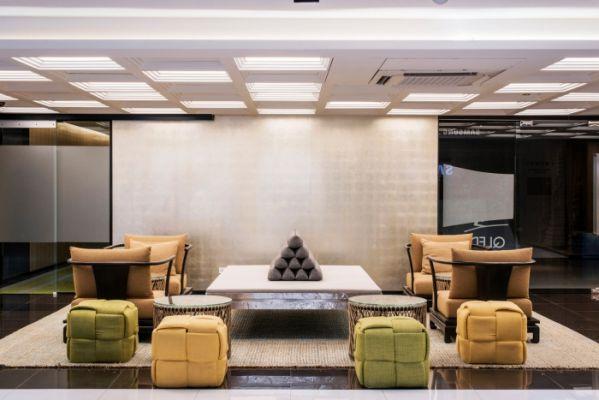 办公室装修设计中多元素文化的融合