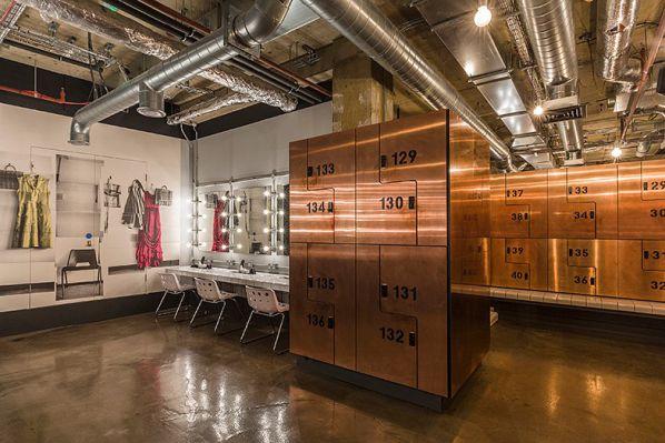 健身房办公室设计打造的复古工业风