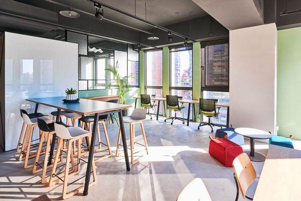 办公室装修设计的多功能共享空间