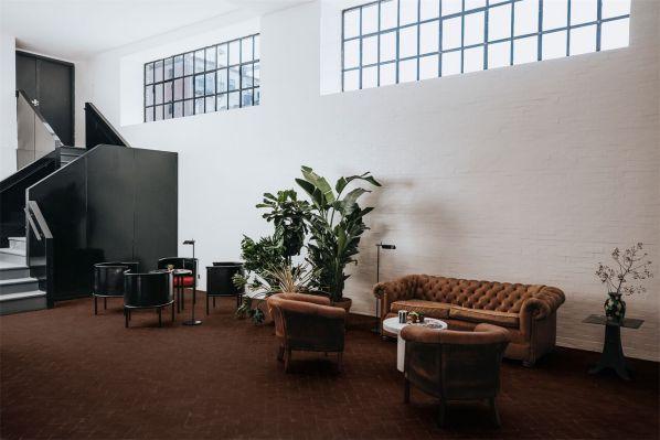 办公室装修设计改造的工业风酒店